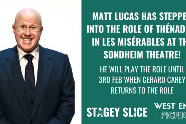 Matt Lucas Joins West End Cast of Les Misérables