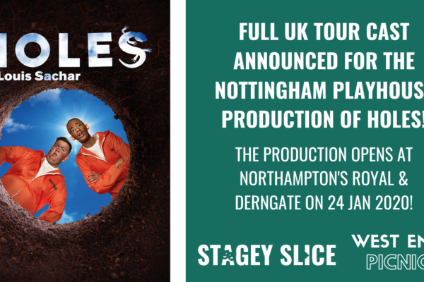 Full Cast Announced for UK Tour of Holes