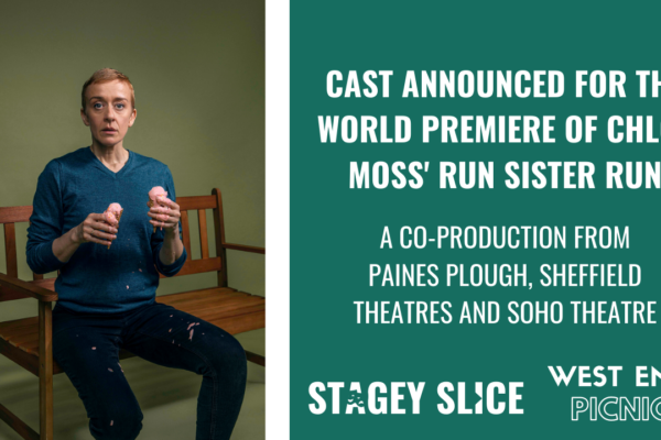 Cast Announced for the World Premiere of Chloë Moss' Run Sister Run